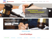 screenshot http://avocatconseiljuridique.fr conseil juridique
