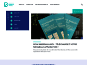 screenshot http://www.avocatparis.org avocat à paris, barreau des avocats parisiens