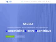 screenshot http://www.axcem.com/ axcem - au service de la cem - compatibilté electro magnétique