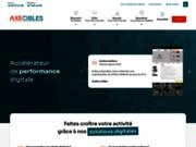 screenshot http://www.axecibles.com création site internet caen