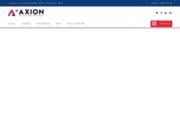 screenshot http://axion-informatique.fr formation et vente de pgi par axion informatique