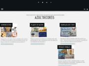 screenshot http://www.azuldecor35.com plaques de maison avec numéro et azulejos