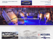 screenshot http://www.azurboatconseil.com gardiennage de bateaux
