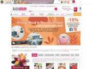 screenshot http://www.ba-da-boum.com badaboum - bazar discount en ligne, des prix à tout casser sur les cadeaux et la déco maison.