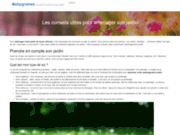 screenshot http://www.babygraines.com/ Babygraines est un site de vente par correspondance de graines rares