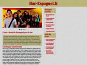 screenshot http://www.bac-espagnol.fr bac-espagnol.fr