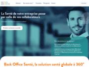 screenshot https://www.back-office-sante.com entreprise