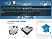 screenshot http://baignoire-balneo.eu baignoire balneo, spécialiste balneo et spa