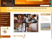 screenshot http://www.bali-artisanat.com artisanat asie