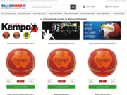 Le spécialiste de la vente de ballons de handball