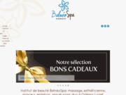 screenshot http://www.balneospa45.fr Institut BalnéoSpa - Bien-être, beauté, spa & soins duo à Orléans