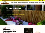 screenshot http://www.bambouland.fr le partenaire officiel des fous de bambous