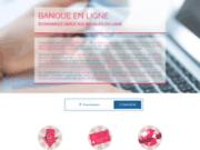screenshot http://www.banqueenligne.com/ banque en ligne