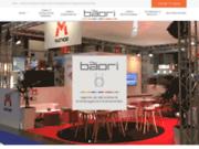 screenshot http://www.baori.fr bãori, agence conseil en décoration événementielle