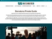 screenshot http://www.barcelonina.com/fr/ Guide privé