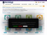 screenshot http://www.base-email.com/ marketing