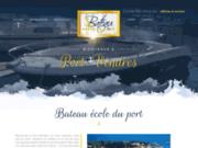 screenshot http://www.bateauecoleduport-66.fr AUTO ÉCOLE DU PORT
