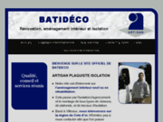 screenshot http://www.batideco21.fr/ artisan plaquiste