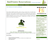screenshot http://www.batipeintre.com batipeintre renovations