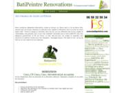 screenshot http://www.batipeintre.com batipeintre renovations