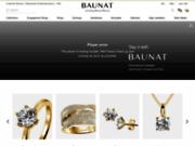 screenshot http://www.baunat.com/ Vente de diamant d'Anvers en ligne