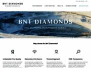 screenshot http://www.baunatdiamonds.com/ Investir dans le diamant d'Anvers