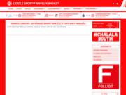 screenshot http://www.bayeux-basket.com cs bayeux basket-ball