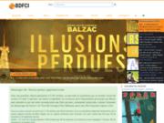 screenshot http://www.bdfci.info base de données française du cinéma sur internet