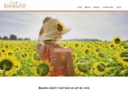 screenshot http://www.beaute-club.fr lissage