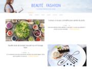 screenshot http://beaute.fashion Beauté. Fashion