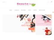 screenshot http://www.beauteweb.com beauteweb