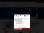 screenshot http://www.beauty-tech.fr/ Fournisseur esthétique