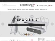 screenshot http://www.beautyspot.fr Le portail Beautyspot.fr: bronzage U.V