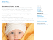 screenshot http://www.bebechou.fr bebechou, grossesse, allaitement, portage