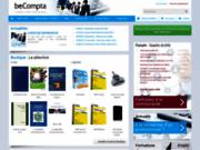 screenshot http://www.becompta.be/modules/entreprendre/ création d'entreprise