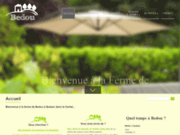 screenshot http://www.bedou.com traiteur du cantal : bedou