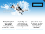 Simulateur de chute libre : Be Flying