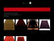 screenshot http://www.bel-orient.be Magasin de tapis