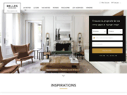 screenshot http://www.bellesdemeures.com belles demeures - immobilier de luxe
