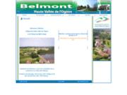 screenshot http://belmont.cchvo.org Commune de Belmont