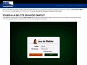 Un jeu de belote en ligne gratuit