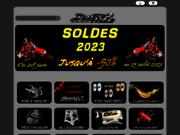 screenshot https://www.benmx.fr Magasin de pièces Motocross d'occasions, neuves et équipement moto cross.