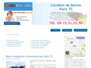 Location benne Paris