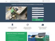 Bennes et gravats, location de bennes à gravats et autre déchets industriels