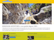 screenshot http://www.berengeraventures.com bérenger aventures