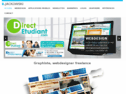 screenshot http://bernard.jackowski.free.fr/ webdesigner freelance paris
