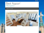 screenshot http://www.bestappartshanghai.com location d'appartements à Shanghai