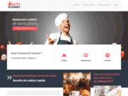 screenshot http://www.bestgourmet.fr/ best gourmet