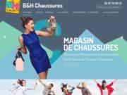 screenshot http://www.bethchaussures.com/ B&H Chaussures