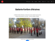 screenshot http://www.bf-airaines.com batterie-fanfare d'airaines